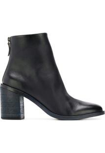 Marsèll Ankle Boot De Couro - Azul
