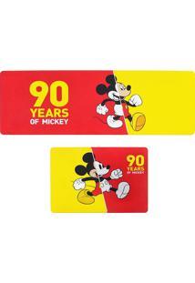 "Jogo De Tapetes Para Cozinha Mickeyâ® ""90""- Vermelho & Ammabruk"