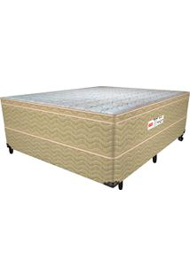 Cama Box Casal Breath Of Light - Pelmex - Palha / Mel / Marfim