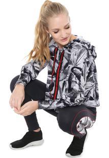 Jaqueta Alto Giro Link Eco Branca/Preta