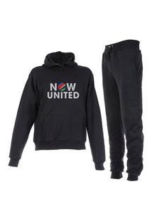 Conjunto Moletom Now United Plus Size Peluciado Preto
