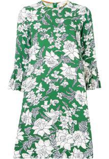 La Doublej Vestido Floral - Verde