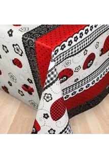 Toalha De Mesa Tã©Rmica Impermeã¡Vel 2,50 X 1,40 Joaninha - Multicolorido - Dafiti