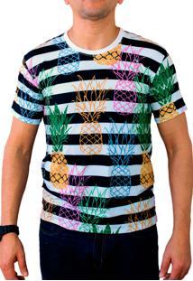 Camiseta Ops Pineapple Summer Estampada