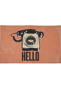 Jogo Americano 33 X 48 - Retro Photo - Hello