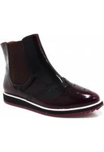 Bota Zariff Shoes Oxford Flatform Chelsea