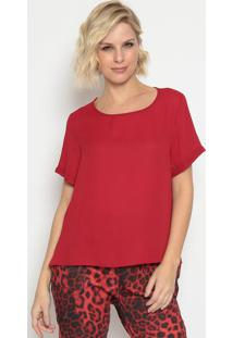 Blusa Lisa - Vermelha - Lanã§A Perfumelanã§A Perfume