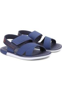 Sandália Cartago Mali X Sand Masculino - Masculino-Branco+Azul