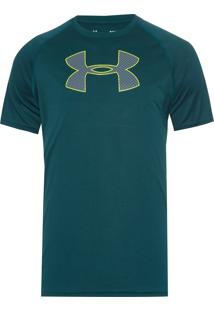 Camiseta Masculina Big Logo - Verde