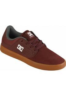 Tênis Dc Shoes Plaza Tc Masculino - Masculino-Bordô