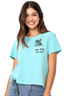 Camiseta Oh, Boy! Animais Verde