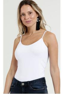Blusa Feminina Básica Alças Finas Marisa