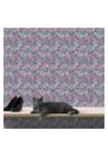 Papel De Parede Autocolante Rolo 0,58 X 3M - Flores 284250389
