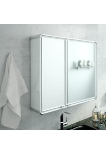 Armário De Banheiro Astra Lbp16-S Retangular 2 Portas Com Espelho
