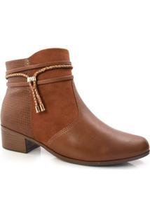 Ankle Boots Feminino Comfortflex