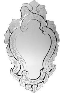 "Espelho ""Luxury"" 98X60Cm - Estilo Veneziano"