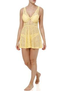 Camisola Feminina Amarelo