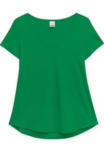 Blusa Verde Claro Mullet Conforto Malwee