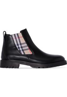 Burberry Allostock Chelsea Ankle Boots - Preto