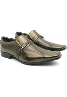 Sapato Social Couro Venetto Prince - Masculino-Cobre