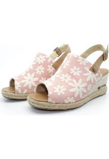 Sandália Barth Shoes Perola Rosa