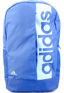 Mochila Adidas Ess Linear - Unissex-Azul