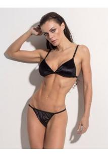 Conjunto Lingerie Superhot Attraction - Feminino-Preto
