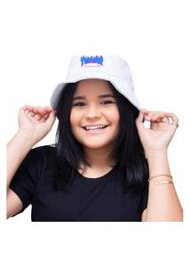 Chapéu Bucket Hat Personalizado Thrasher Lançamento - Branco
