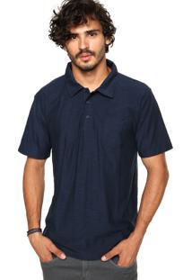 Camisa Polo Quiksilver Voices Azul-Marinho