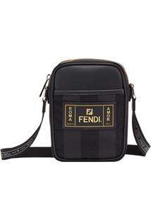 Fendi Small Cross Body Bag - Preto