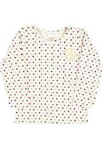 Blusa Rotativo Pulla Bulla - Feminino-Branco