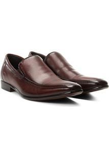 Sapato Social Couro Rafarillo Dubai - Masculino-Marrom