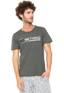 Camiseta Sommer Estampada Cinza