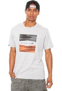 Camiseta Rusty Filter Cinza