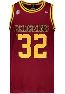 Regata New Era Nfl Washington Redskins Vermelho Nome