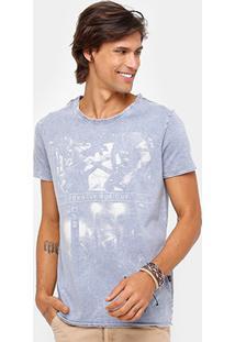 Camiseta Triton Stone Turn The Music Masculina - Masculino