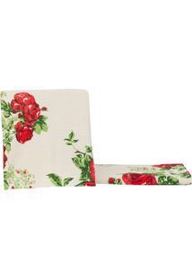 Toalha De Rosto Estampada Itália Rosas Vermelhas