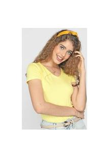 Blusa Malwee Lisa Amarela