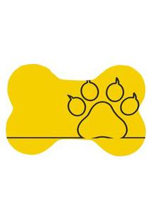 Tapete Wevans Pet Only Leg Amarelo