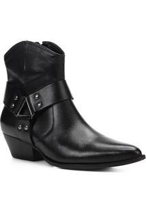 Bota Country Shoestock Western Ferragem Feminina