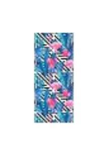Adesivo Decorativo De Porta - Flamingos - 1699Cnpt