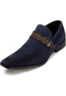 Sapato Social Bkarellus 31 Azul-Marinho