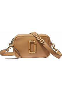 Marc Jacobs The Softshot 17 Crossbody Bag - Marrom