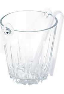 Balde Para Gelo- Cristal & Incolor- 800Ml- Lyorlyor