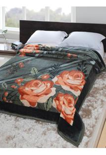 Cobertor Casal Jolitex Tradicional Verde