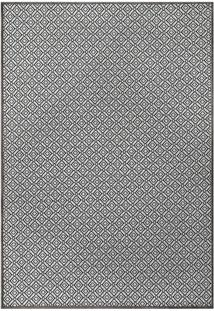 Tapete Pratik Geomã©Trico- Cinza & Preto- 200X140Cm