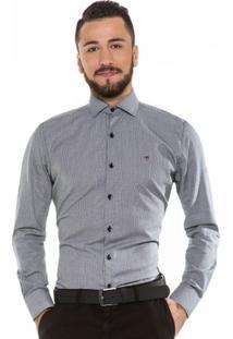 Camisa Hugo Rossi Maquinetada - Masculino
