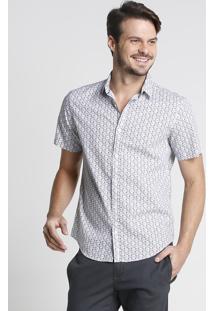 Camisa Arabescos Florais