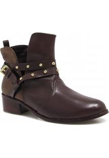 Bota Ankle Boot Zariff Shoes Metais