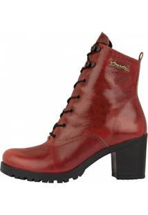 Bota Barth Shoes Wind Feminina - Feminino-Vermelho